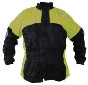 Richa Rain Warrior Over Jacket black/fluo
